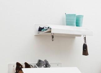 Ein Schuhregal für Designliebhaber, das für Ordnung sorgt und gut aussieht