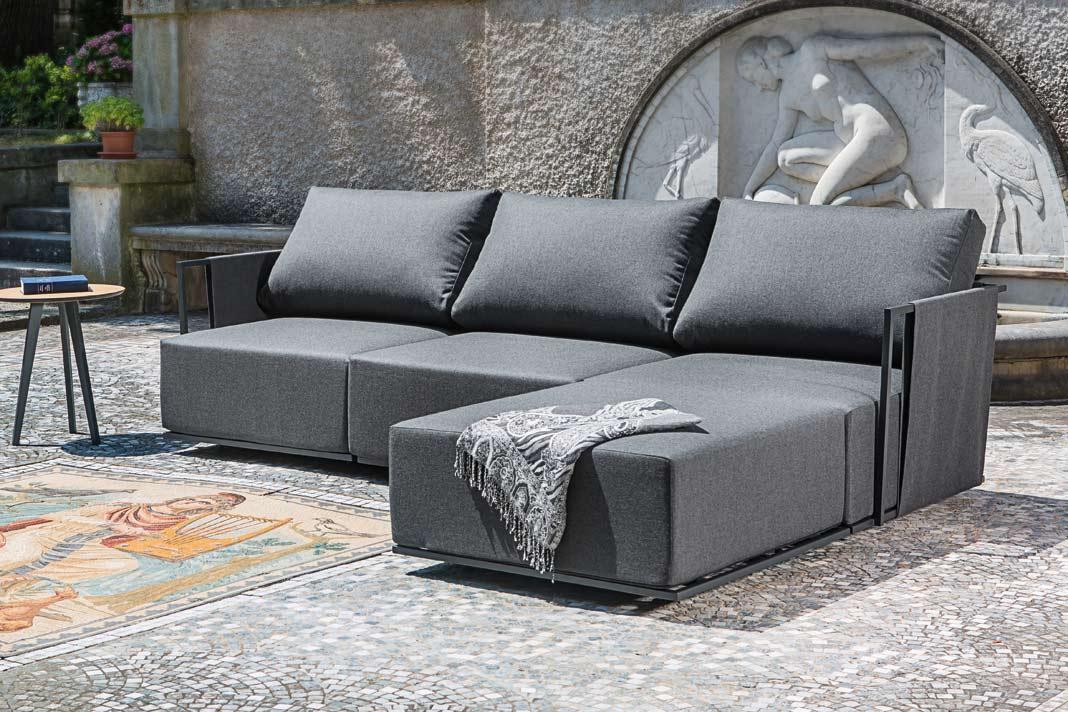 Neue, bequeme und funktionale Gartenmöbel.