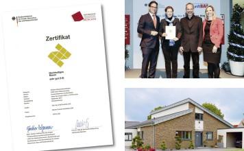 Nachhaltig bauen mit zertifizierter Nachhaltigkeit von Gussek Haus. Foto: Gussek Haus