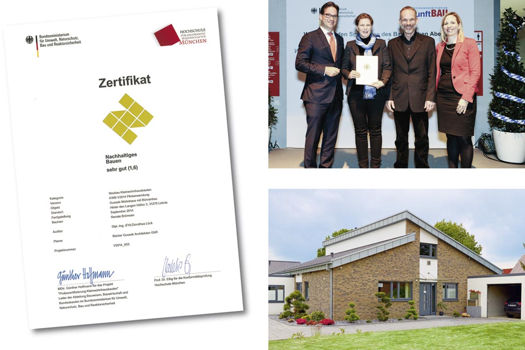 Nachhaltig Bauen nachhaltig bauen mit zertifizierter nachhaltigkeit gussek haus
