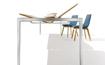 Ausziehtisch Tak von Team 7 vereint Funktionalität mit Design.