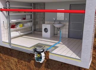 Die Kellernutzung für den Betrieb einer Waschmaschine, eines Waschbeckens oder einer Dusche ist nahezu Standard, benötigt aber häufig eine Hebeanlage.