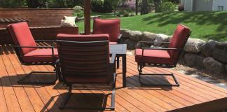Ökologische Holzlasur für dauerhaft schöne Gartenmöbel, Terrassen und Holzbauteile.