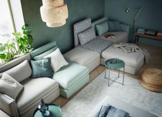 Der gemütlich-moderne skandinavische Wohnstil steht bei Ikea auch im Frühjahr 2016 wieder im Mittelpunkt.