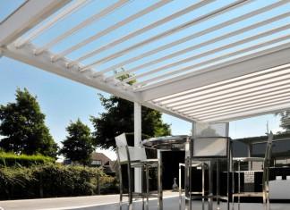 Mit dem Vario Kielgast Lamellendach kann man seine Terrasse das ganze Jahr und bei jeder Witterung genießen.