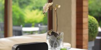 Ein Lautsprecher im Taschenformat mit Bluetooth-Verbindung