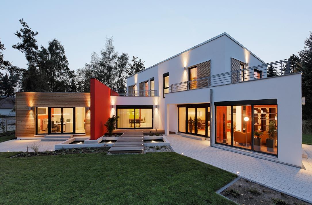 luxhaus jetzt standardm ig mit luft wasser w rmepumpe livvi de. Black Bedroom Furniture Sets. Home Design Ideas