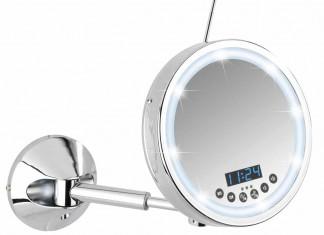Der praktische LED-Kosmetik-Spiegel bietet leuchtende Momente.