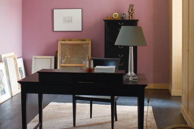 """Die Pantone-Farbe """"Rose Quartz"""" an der Wand gehört zu den starken Trendtönen 2016."""