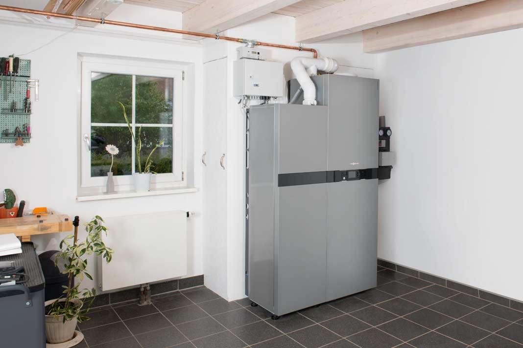Strom und wärme aus dem nano-BHKw, für den kleinen Energiehunger.