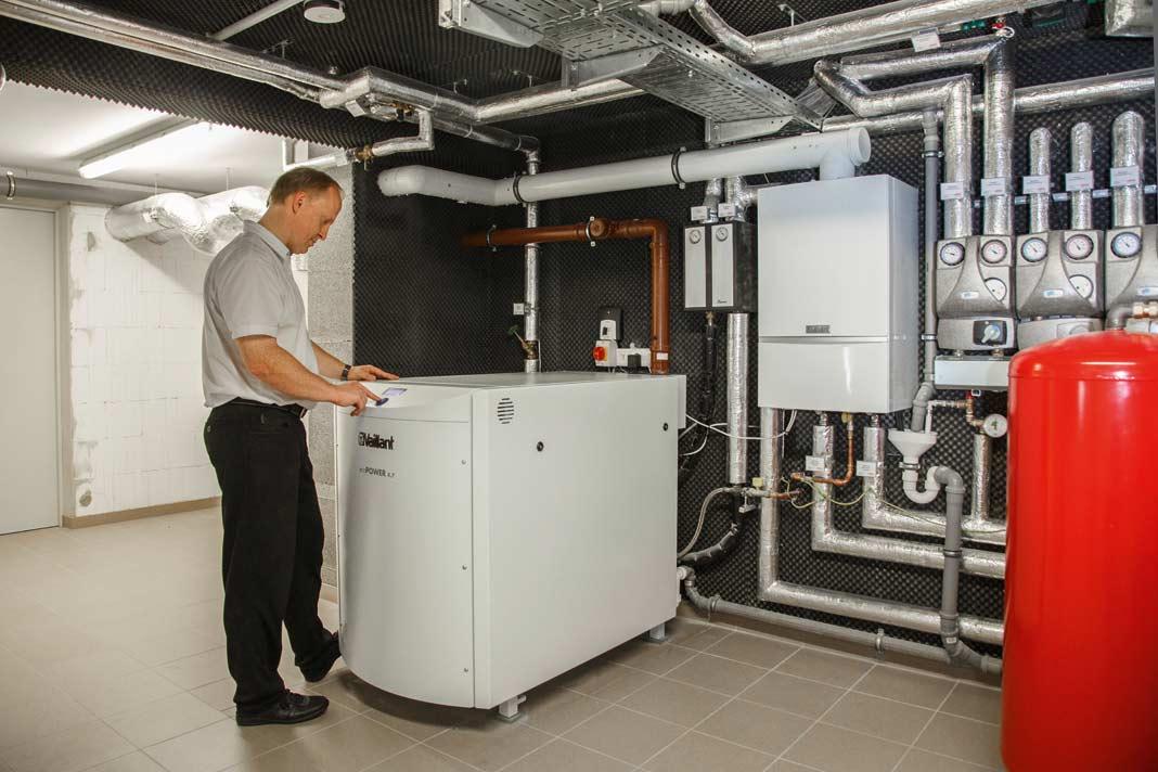 Mit Flüssiggas betriebenes mini-BHKw für den großen Energiehunger.