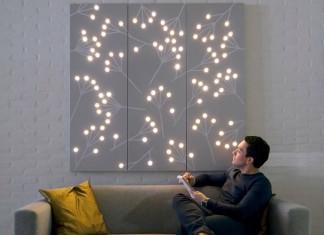 Die dekorative LED-Beleuchtung verbraucht wenig Energie, ist langlebig und eignet sich zur visuellen-dynamischen Gestaltung vieler Innenräume. Foto: Philips