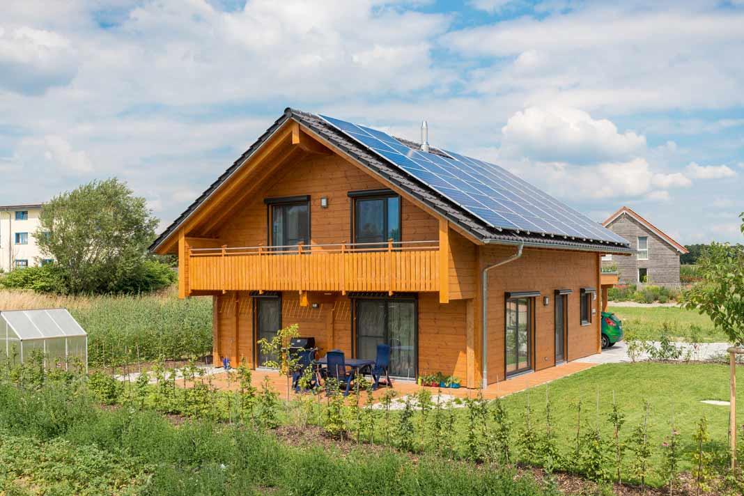 In Wolpertshausen hat man sich seit langem auf modernes, ökologisches Leben eingestellt und lockt mit guten Ideen.
