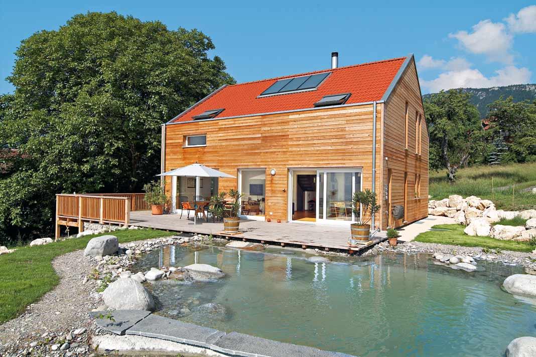 Ökologische und wohngesunde Werkstoffe garantieren einen schadstofffreien Lebens- und Wohnraum.