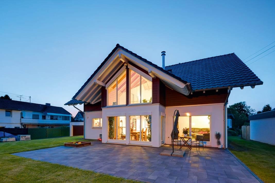 Ökohaus von Stommel Haus.