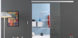 Schiebetüren und Raumteiler für eine Trennung auf Wunsch.