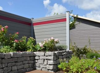Schöne, nachhaltige Sichtblende für Terrasse und Garten. Foto: Osmo