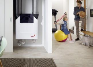 Zentrale Wohnraumlüftung neuester Generation.