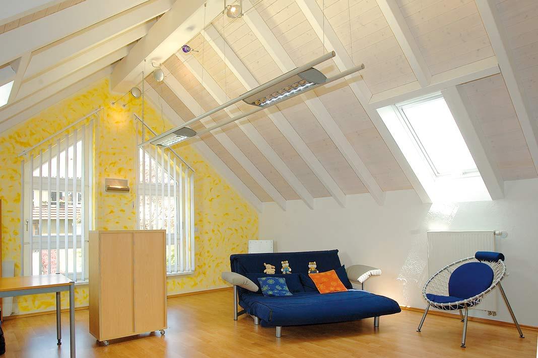 ein dachgeschoss ausbau f r eine effizientere nutzung. Black Bedroom Furniture Sets. Home Design Ideas