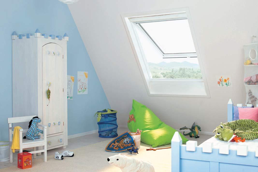 Dachflächenfenster passen fast überall.