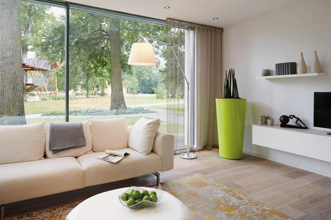 Behälter in modernem Design steht für schlichte Eleganz.