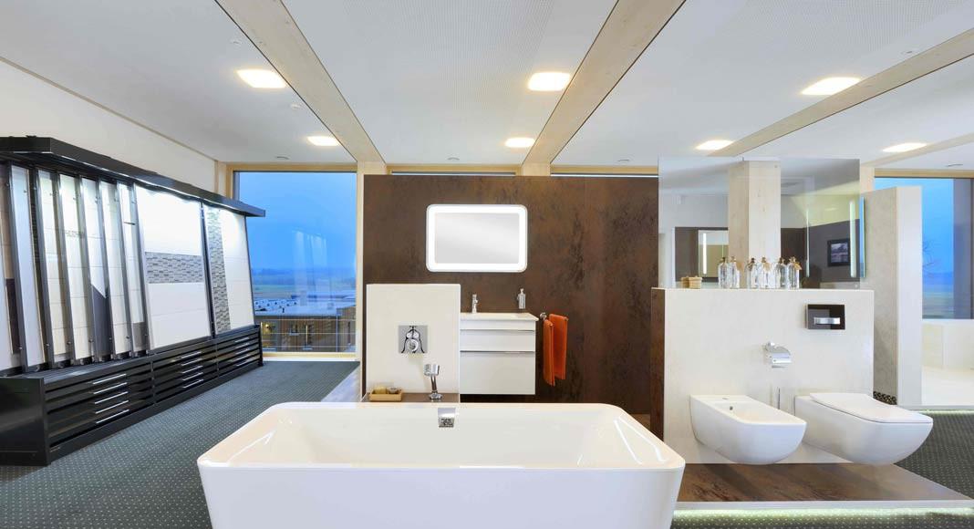 Für den gewünschten Waschtisch können auch dazu passend Unterschrank, Spiegel und Accessoires bei KAMPA bezogen werden.
