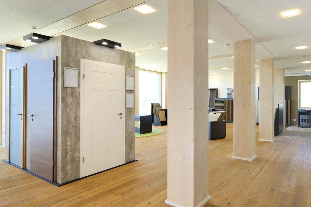 Das Bauinnovationszentrum von KAMPA im schwäbischen Aalen/Waldhausen ist ein Muss für alle werdenden Bauherren.