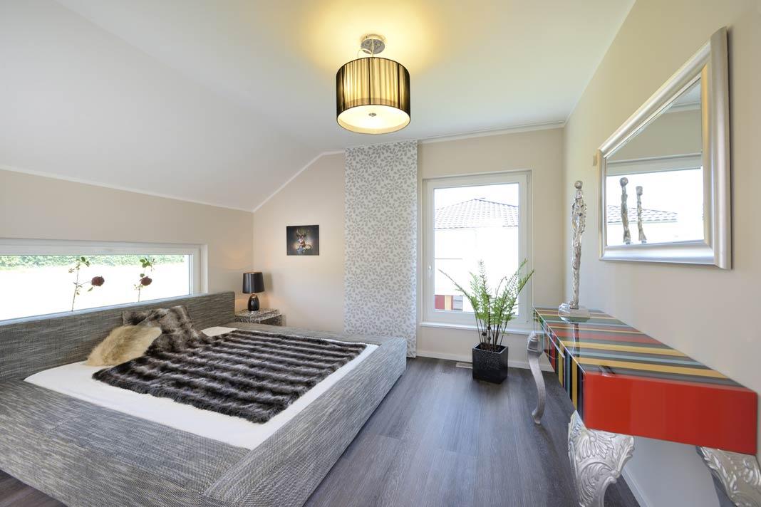 In einem neuen Zuhause von Kampa können Bauherren mit Sicherheit ganz ruhig schlafen.