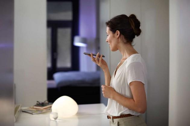 """Smartes Licht: Mit """"Philips Hue"""" und dem """"Apple HomeKit"""" steuert man – nicht nur – die Beleuchtung zu Hause von jedem Ort der Welt aus."""