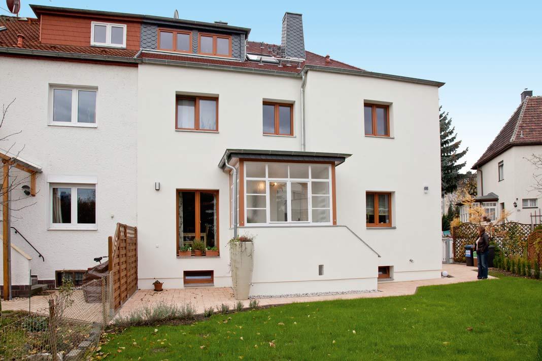 Frisch modernisierte Doppelhaushälften haben danach mit ihrem Zwilling mindestens gleich gezogen.