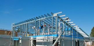 Der Stahlleichtbau verbindet die statischen Vorteile des Stahlbaus mit der Flexibilität des Trockenbaus. Foto: Protektor.com