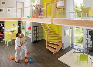 Treppen sind Verkehrswege, die für alle Familienmitglieder sicher begehbar sein müssen.