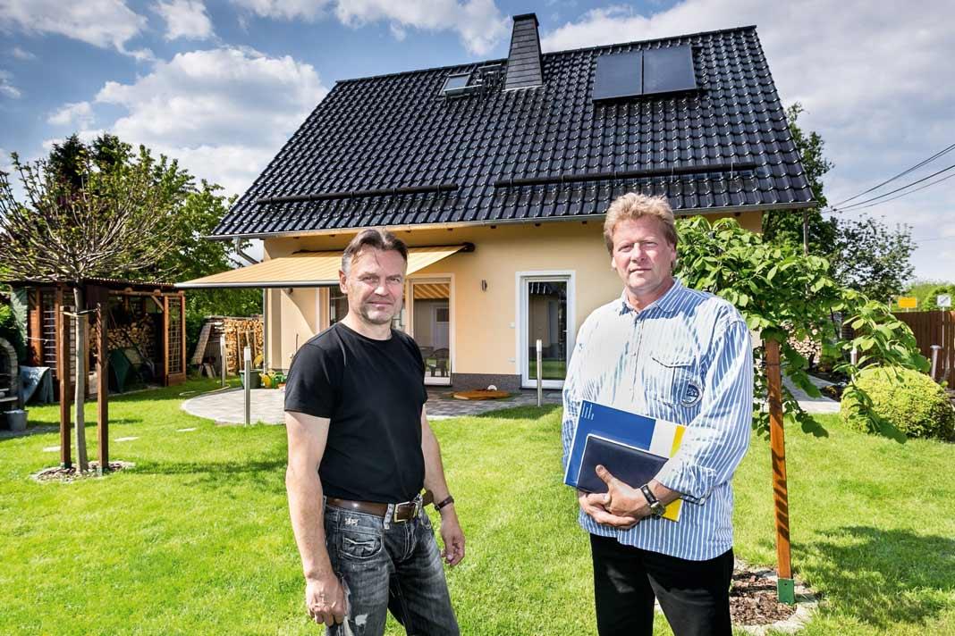 Progas- Fachberater Volker Bürger(rechts).