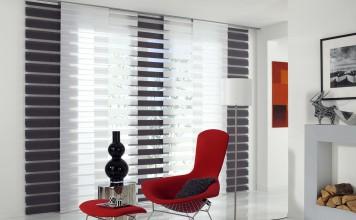 Ein Vorhang, der durch seinen Stoff eine große Vielfalt an Lichtspielen ermöglicht. Foto: Gardinia
