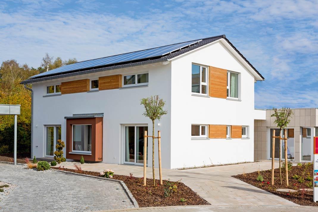 Wärmeschutz in Passivhausqualität ist eine wichtige Zutat zum Plusenergie-Haus.
