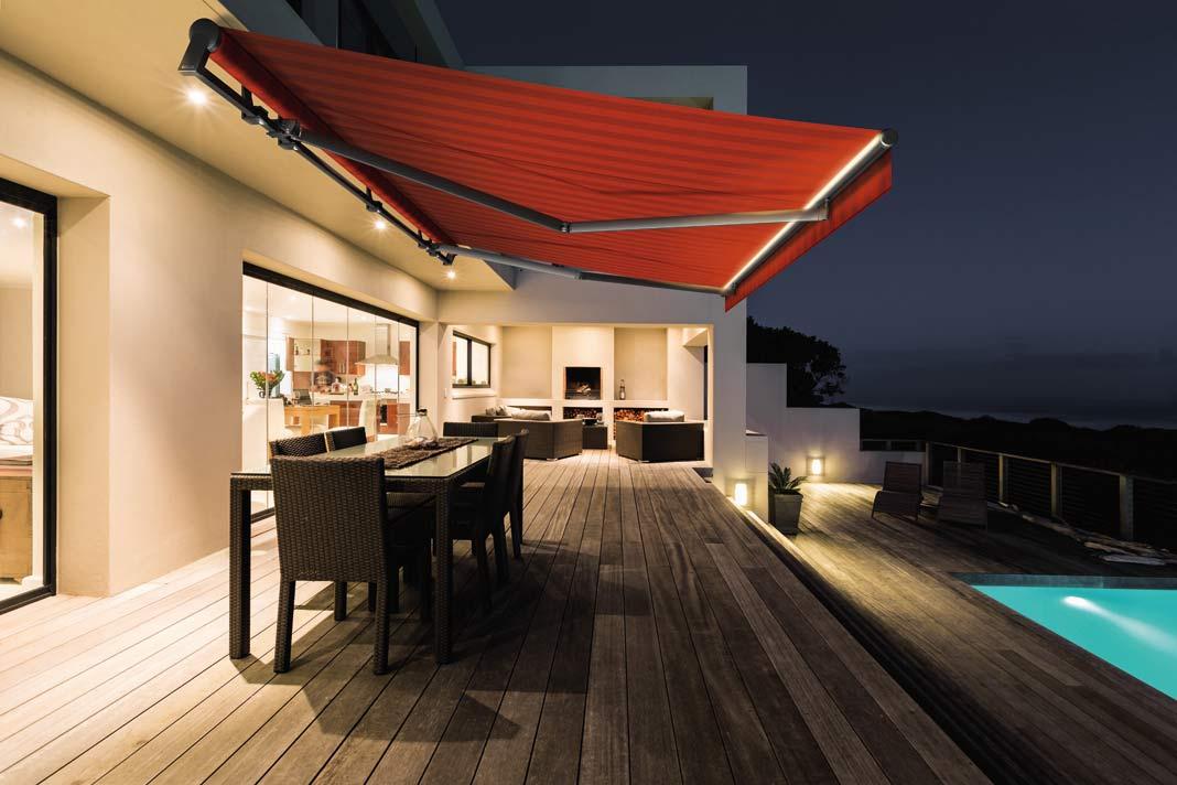 Sonnenschutz markisen terrasse Markisen online kaufen