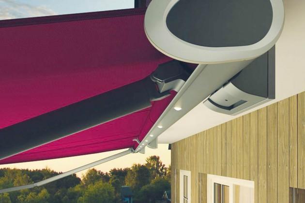 """Die neue Kassettenmarkise """"Semina Life"""" eignet sich für zahlreiche Terrassengrößen und Einbausituationen."""