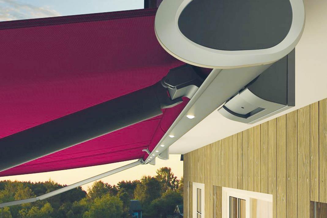 sonnensegel unter glasdach perfect sonnensegel with. Black Bedroom Furniture Sets. Home Design Ideas