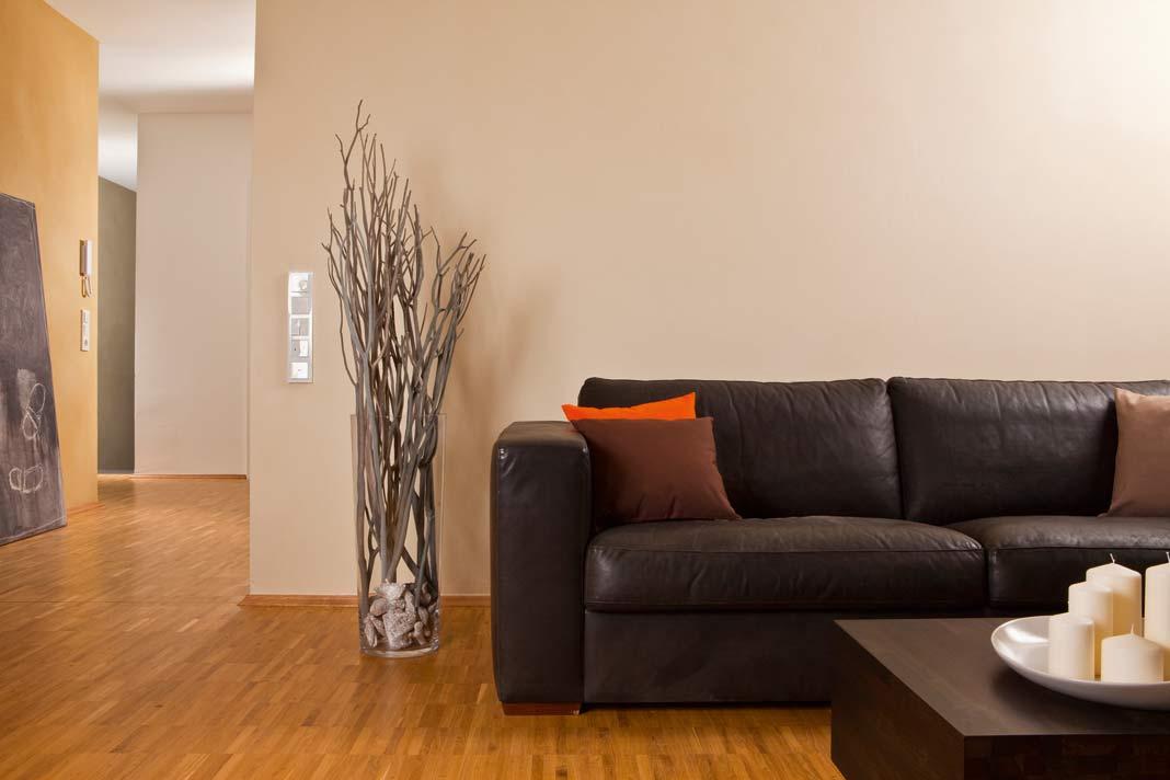 dekorativer innenputz f r kreative oberfl chengestaltung. Black Bedroom Furniture Sets. Home Design Ideas