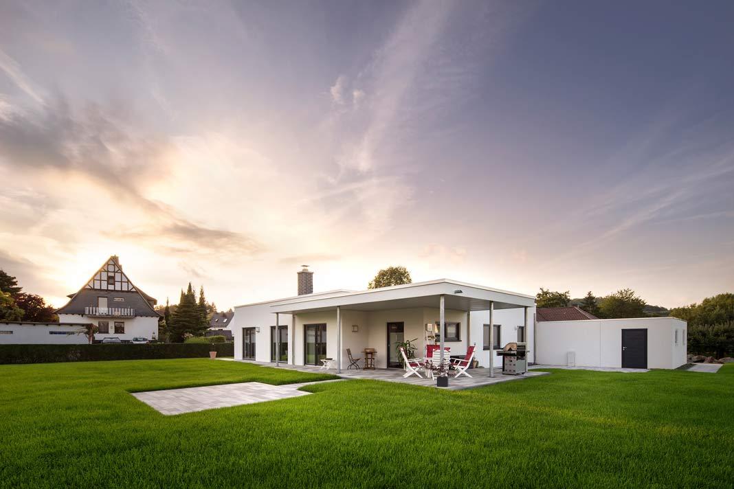 für jeden Bauherrn wird individuell geplant und somit ist jedes Haus ein Unikat.