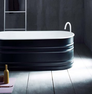 Badewanne Vieques bietet mit nur 150 cm Länge maximalen Komfort. Foto: Agape