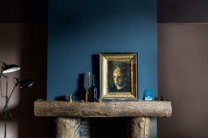 Blau für die Wände wird der Trend im Herbst 2016. Foto: Dulux