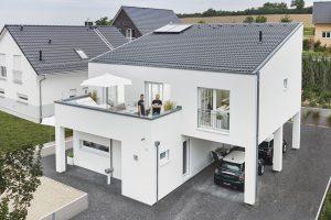 Einfamilienhaus neubau pultdach  Pultdach macht das Haus zum Unikat. » LIVVI.DE