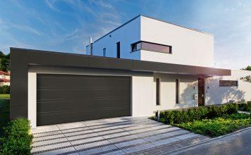 Für die XXL-Garage: Das Normstahl Superior + 42 Modell Flair ist in einer Breite von bis zu sechs Metern erhältlich. Foto: Normstahl Entrematic