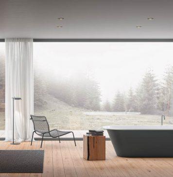 Badewannen überzeugen mit komfortablen Innenformen und tollem Design – jetzt auch in Farbe.