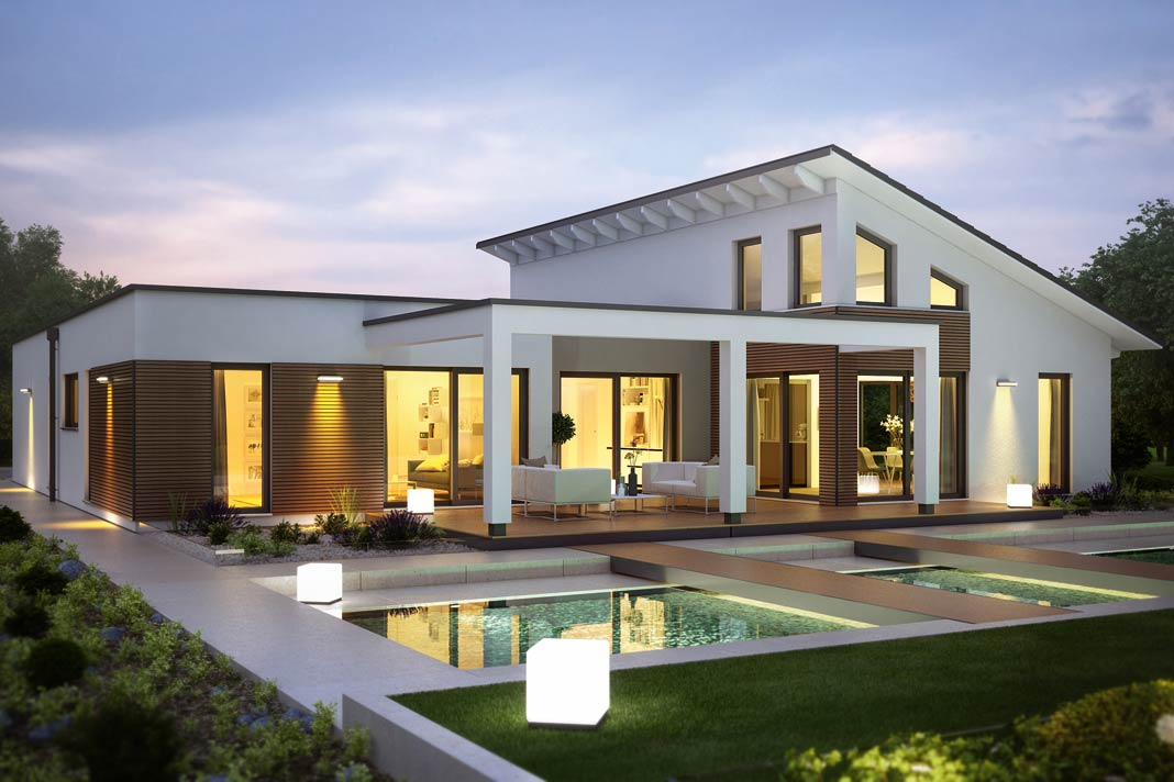 Bestseller bungalow bequemer geht es nicht livvi de for Modern bungalow bauen