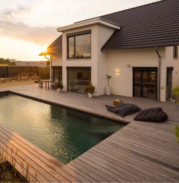 Nachhaltigkeit beim Hausbau.