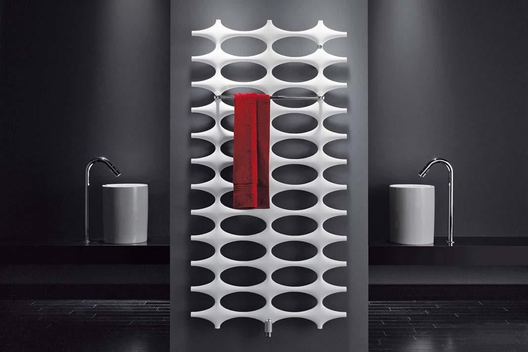 """""""Ideos"""" hat mit seinem neuartigen Design die Wärme im Bad revolutioniert."""