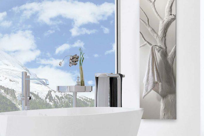 Der moderne Badheizkörper als Kunstwerk im Badezimmer ...