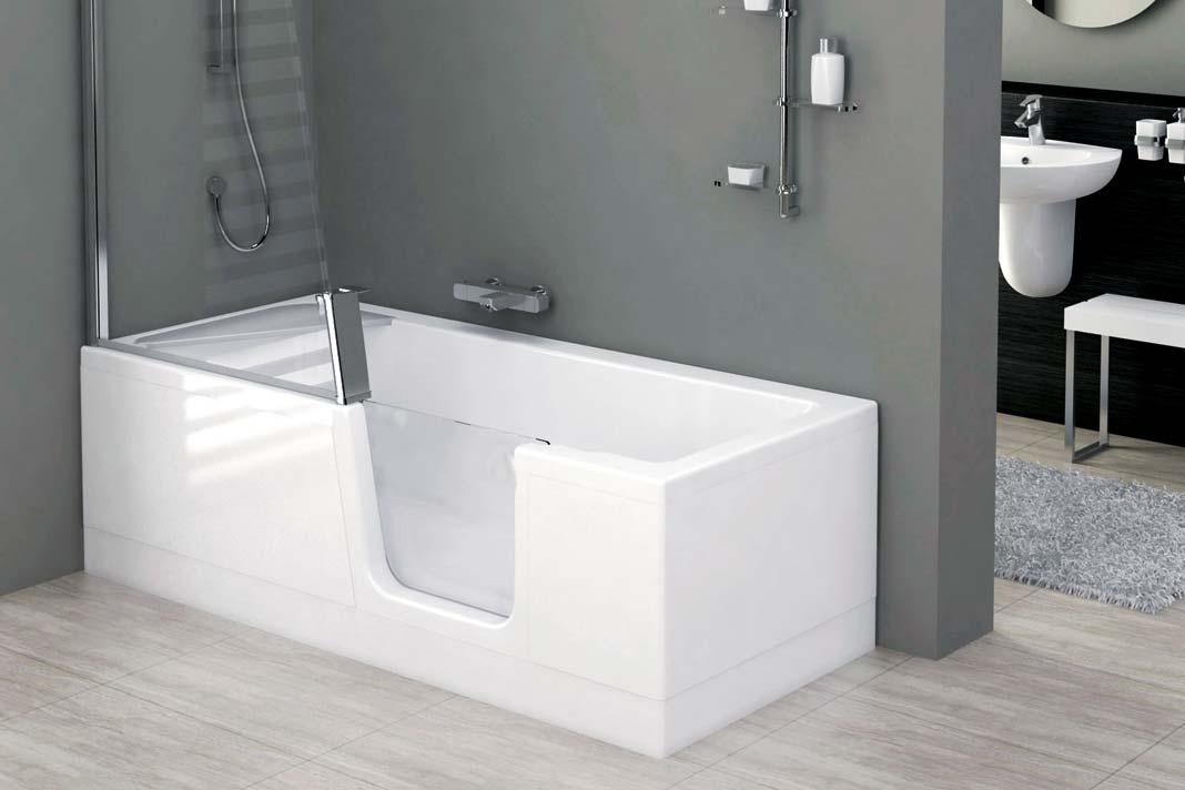 Wer auf die Badewanne nicht verzichten möchte und keinen Platz für einen extra Duschbereich hat.